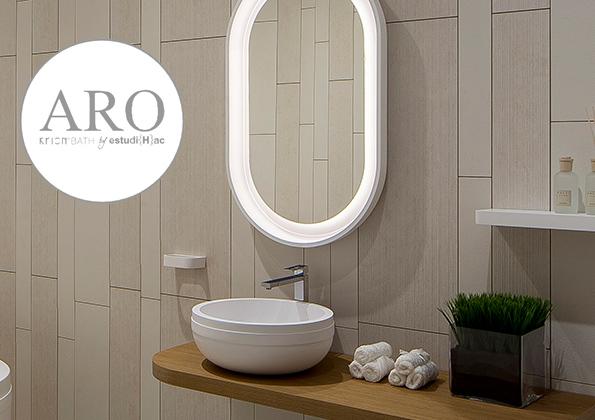 source a id aro porcelanosa une sublime ligne faite de. Black Bedroom Furniture Sets. Home Design Ideas