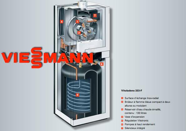 Source a id nouvelle gamme de chaudieres fioul by viessmann for Radiateur pour chaudiere a condensation