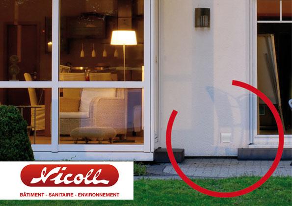 source a id neolia par nicoll la grille de ventilation. Black Bedroom Furniture Sets. Home Design Ideas