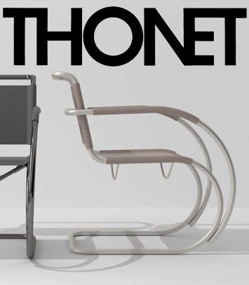 Thonet fauteuil S 533 F