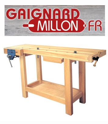 ETABLI EN BOIS TRADITIONNEL GAIGNARD MILLON