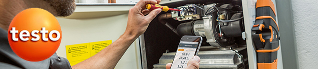 TESTO PROPOSE LE PREMIER ANALYSEUR DE COMBUSTION CONNECTE