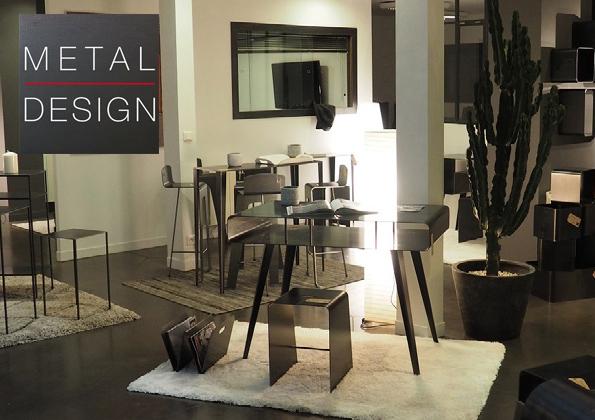source-a-id - metal design / du mobilier en metal made in lorient - Meuble Metal Design