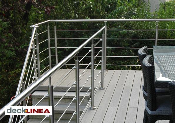 source a id oxynov un garde corps design inox pour terrasse. Black Bedroom Furniture Sets. Home Design Ideas