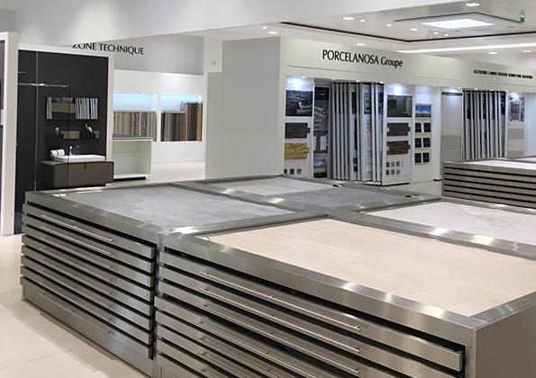 Source a id porcelanosa lyon le plus grand showroom de for Porcelanosa france carrelage