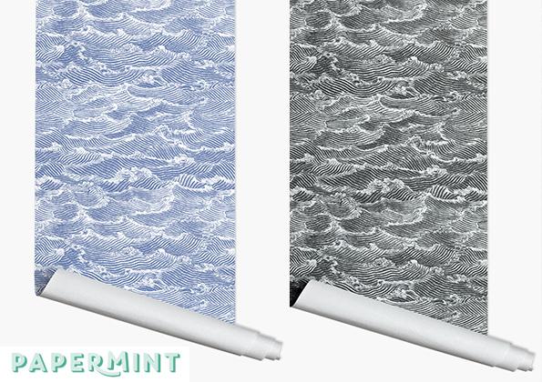 source a id papermint le papier peint qui assume sa diff rence. Black Bedroom Furniture Sets. Home Design Ideas