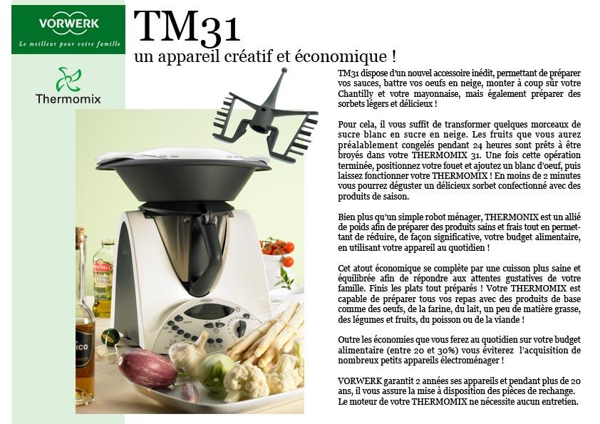 Free finest click to enlarge image stupefiant vorwerk for Robot cuisine vorwerk thermomix prix