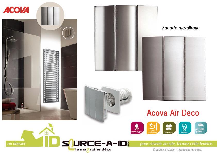 Source-a-id - ACOVA AIR DECO : L\'EXTRATEUR DESIGN, PERFORMANT ...