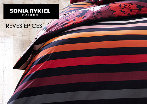 Source a id sonia rykiel maison collection automne for Housse de couette rykiel