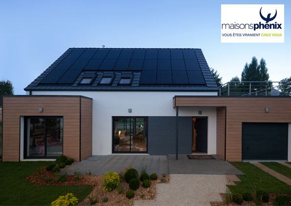 Source a id volume s une maison contemporaine et for Maison phoenix