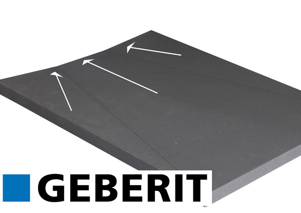 source a id un receveur a carreler by geberit. Black Bedroom Furniture Sets. Home Design Ideas