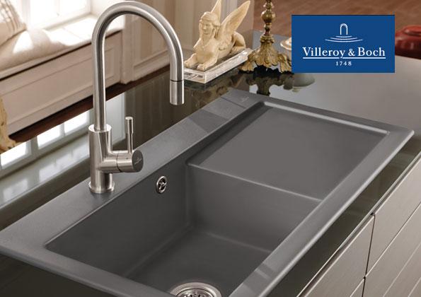 Source a id villeroy boch 4 nouvelles lignes d 39 eviers pour votre cuisine - Villeroy et boch evier ...
